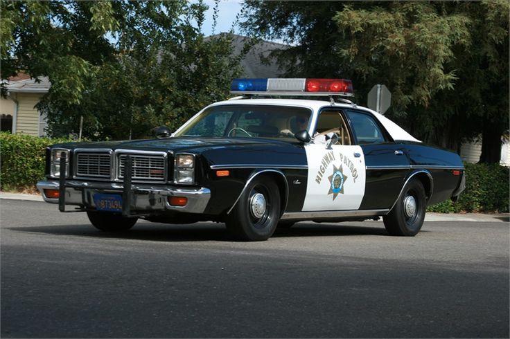 Dodge California Highway Patrol Car.
