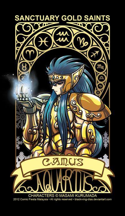 Saint Seiya - Aquarius by blackwing-dias.deviantart.com on @deviantART