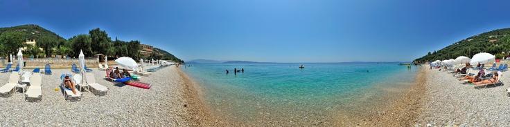 krouzeri beach corfu