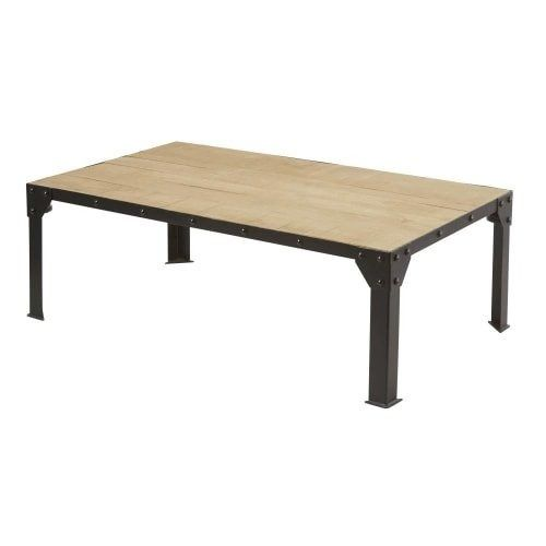 Mesa De Arrime De Hierro Y Madera 1 400 00 En Mercado Libre Dining Bench Home Decor Furniture