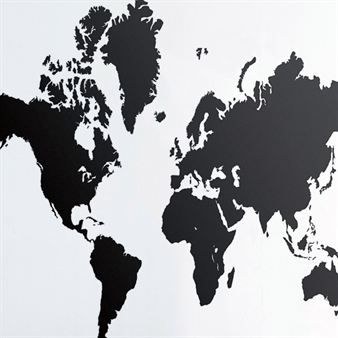 Variant: black  The large wall decoration World Map will revive the spirit to any room!    Read more about World Map wall decoration  $89.29 (VAT excl.)