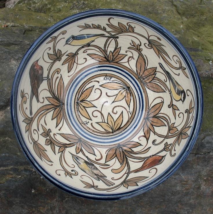 Hand painted stoneware from Czech Republic  http://podbrdskakeramika.cz/