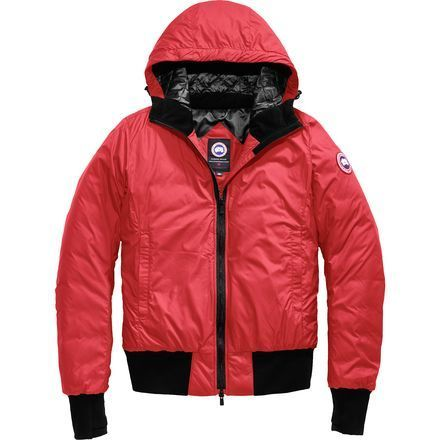 Spring weather is hard to predict—from sunny, warm temperatures one day to heavy snow the next—be prepared for anything Mother Nature throws your way with the Canada Goose Women's Dore Hooded Down Jacket. With a lightweight construction and down fill, this jacket offers essential warmth when you wake to inches of snow on the ground and bitter temperatures, and it packs down easy when the sun peeks out from behind the clouds and temperatures rise.