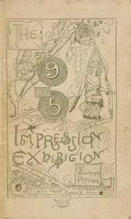 Charles Conder, Catalogue of the 9 by 5 Impression Exhibition