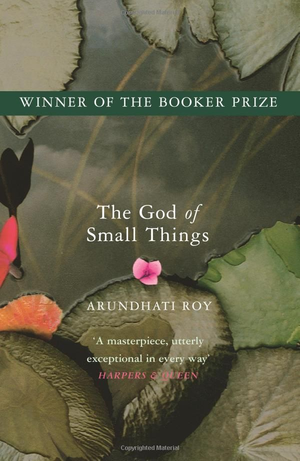 The God of Small Things: Arundhati Roy: Finished 2010. Yes, beautiful.