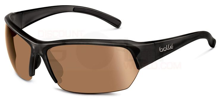 Bolle Ransom Golf Sunglasses Delivers Crystal Clear Vision, Durable Lightweight Frames, Thermogrip Nose Pads Sports Sunglasses Golf Apparel