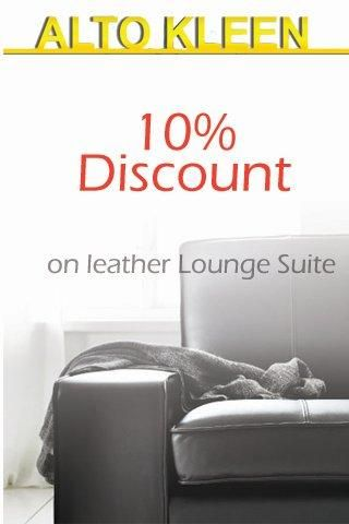 10% Discount on Leather Want to spring clean Claim Now!