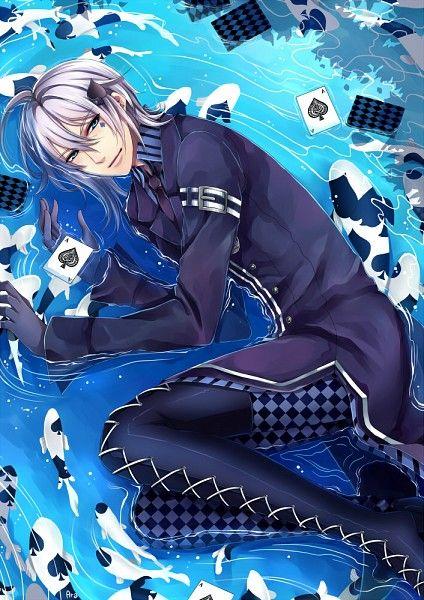 Amnesia Ikki *grabby hands* Make it blue spade <3