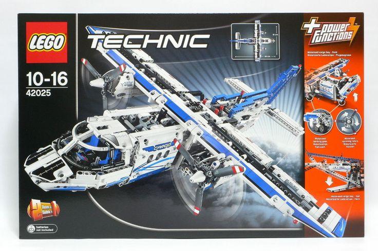 LEGO Technic Cargo Plane 42025 New Sealed Set #LEGO
