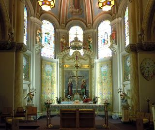 Detroit Church Blog: Our Lady of Mt. Carmel (Our Lady of the Scapular Parish, Wyandotte)