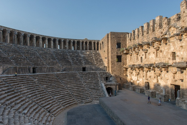 Theatre Of Aspendos , Antalya, Turkey (by FO Travel)