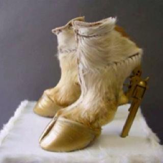 saay whaaaatt?!? Crazy shoes ha