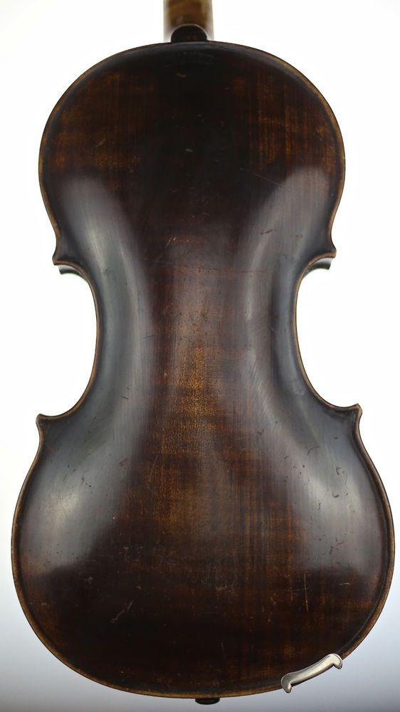 old violin 4/4 geige viola cello fiddle fullsize label JACOBUS STAINER