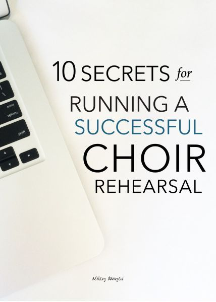 """Successful people do what unsuccessful people are not willing to do. Don't wish it were easier; wish you were better"" (Jim Rohn). // 10 secrets for running a successful choir rehearsal (by /ashleydanyew/)"