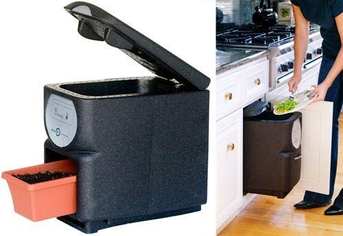 Cubo de basura ecológico - recicla los alimentos - El Aderezo - Blog de Recetas de Cocina