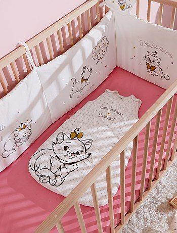 Tour de lit 'Disney'                              blanc Bébé fille  - Kiabi