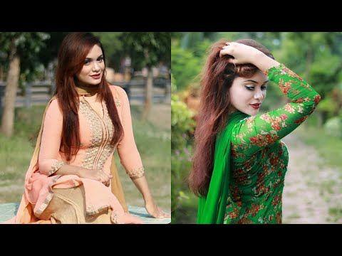 9214833d485 Girl with Salwar Kameez | Girls Poses with Kurta/Kurti | Simple & Beautiful  Pose - YouTube