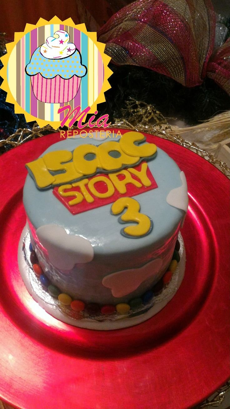 Torta 3 meses toy story