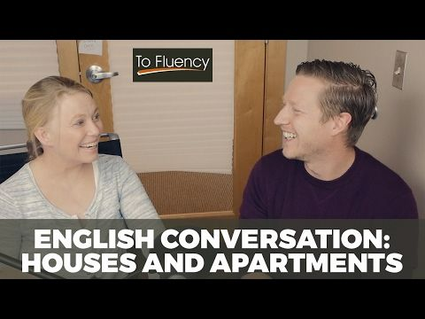 Advanced English Conversation: Talking about Houses and Apartments   ESL Vocabulary Lesson - YouTube