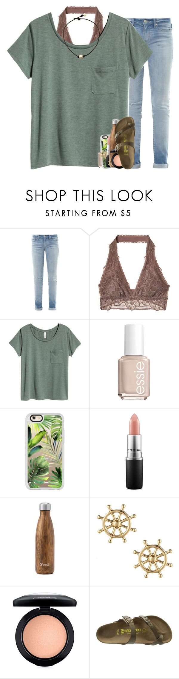 """""""listening to throwback one direction songs """" by madelinelurene ❤ liked on Polyvore featuring Marc by Marc Jacobs, Essie, Casetify, MAC Cosmetics, West Elm, Sperry and Birkenstock"""