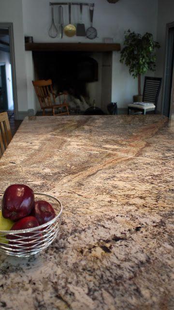 River Bordeaux granite kitchen countertops