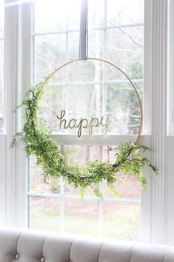 Diameter 40″ Gold metal hoops for Wedding Hanging Sign Floral Hoop Hanging Wedding & Party Decor/ Wedding decor Engagement decor
