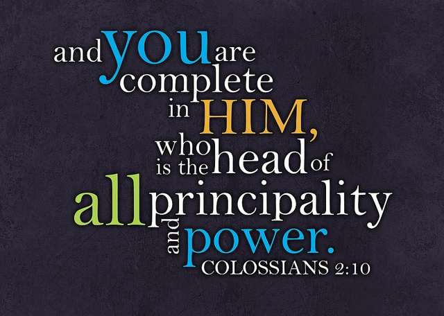 Image result for colossians 2:10