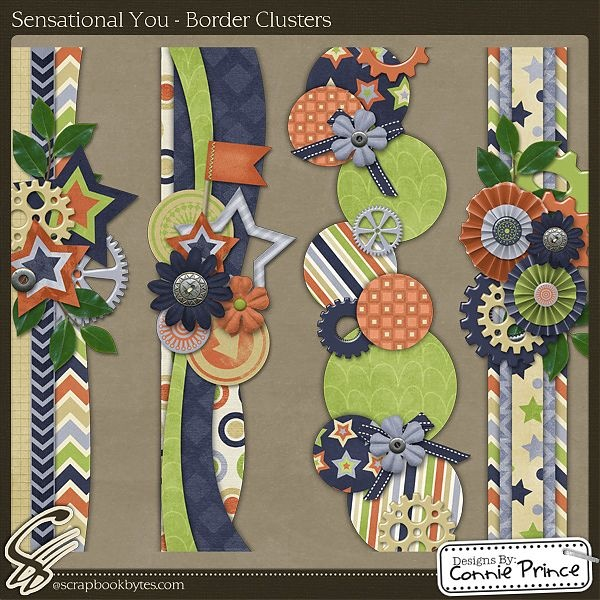 Border Ideas to use up scraps.