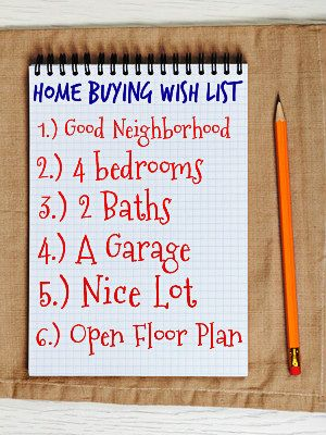 When Buying A First Home Create A 1st Time Home Buyer Wish List: http://www.maxrealestateexposure.com/tips-buying-first-home/ #realestate