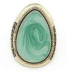 Teardrop Jade Swirl Ring, S$ 10.00 from fourtwelve.com.sg