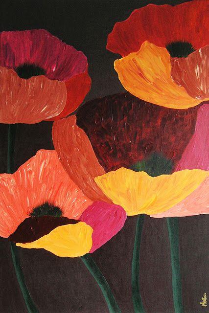 herstein.eu                                               Poppies flowers                                     Paintings by Herstein