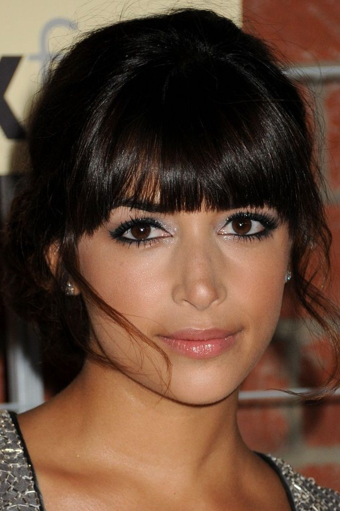 Hannah Simone - actress. Indian and German/Italian/Greek Cypriot.