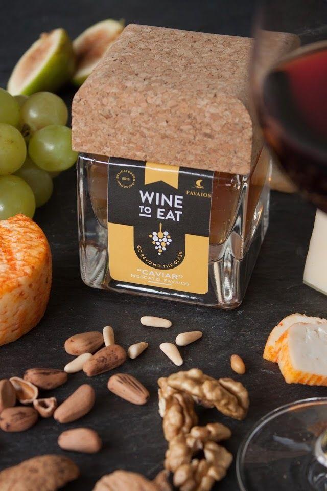"Wine to Eat (vin ""à manger"" à la cuillère : caviar, confiture...)   Design : Barn Studio, Portugal (octobre 2015)"