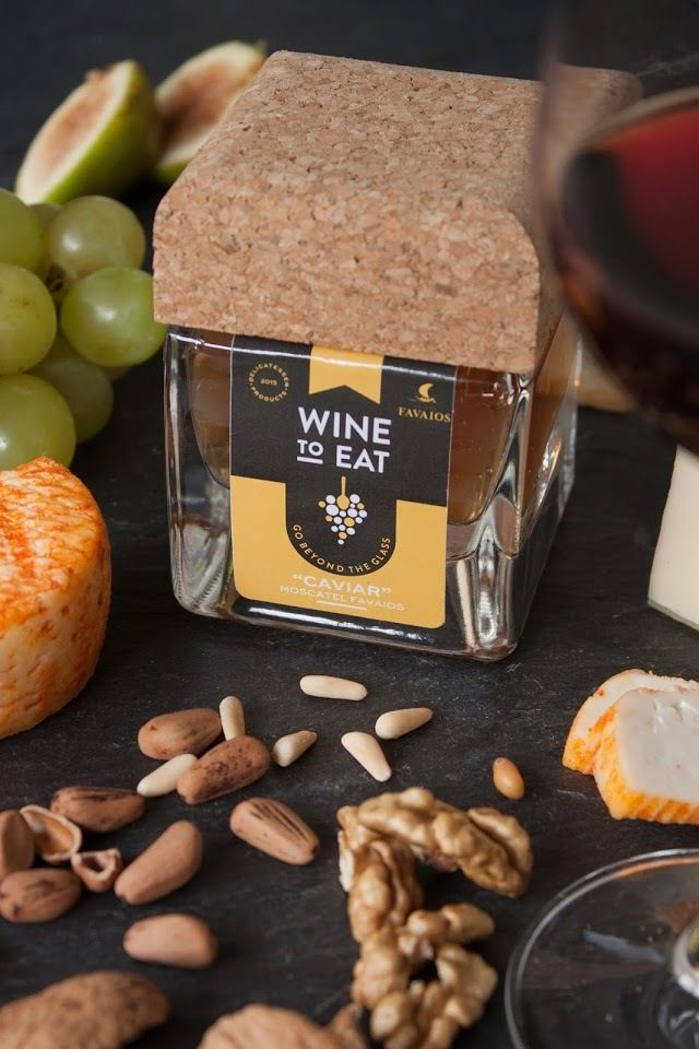 "Wine to Eat (vin ""à manger"" à la cuillère : caviar, confiture...) | Design : Barn Studio, Portugal (octobre 2015)"