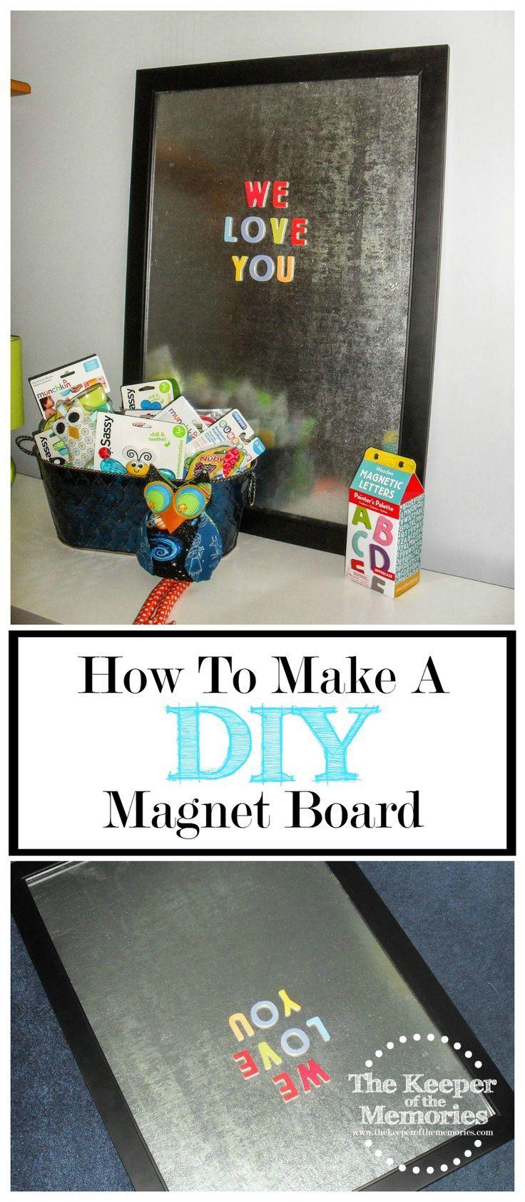 25+ unique Diy magnetic board ideas on Pinterest