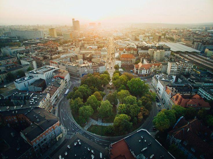 Katowice, Plac Wolności. #Katowice