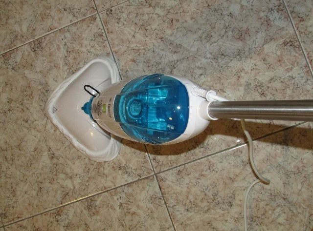 Scopa a vapore STEAM & CLEAN