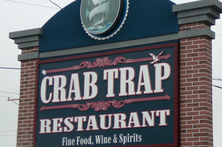 popular Crab Trap Restaurant, Somers Point, NJ (just