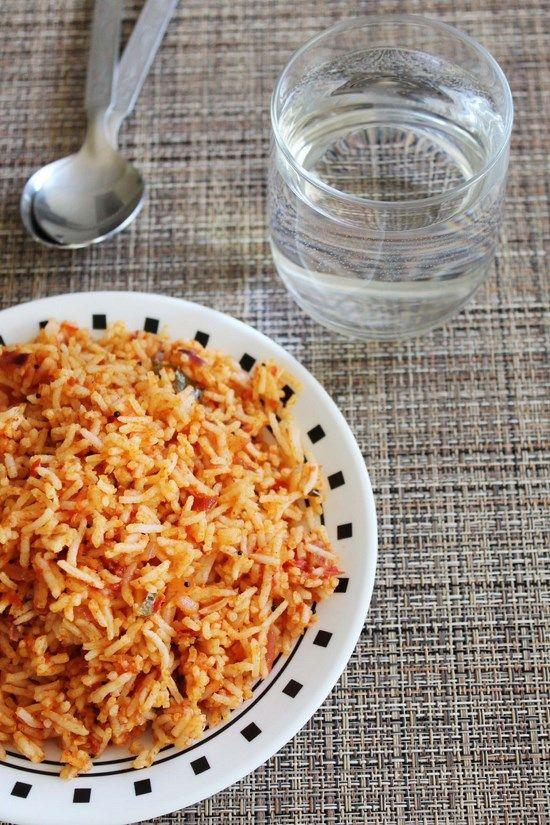 10 best indian khana images on pinterest indian food recipes tomato rice recipe thakkali sadam indian food forumfinder Choice Image