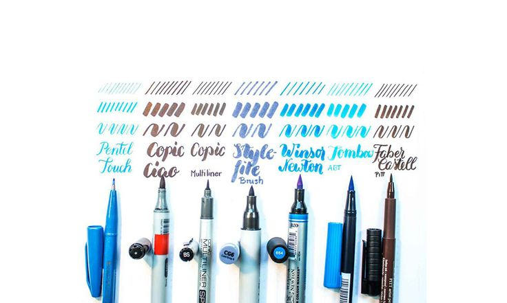 A brush pen is the right multitool for lettering and also colorations on graphics. The brush collection of a designer is always growing... Read more