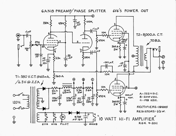 wiring diagram for a vacuum tube radio 285 best images about hifi on pinterest | radios, circuit ... wiring diagram for a 1972 ford amfm radio