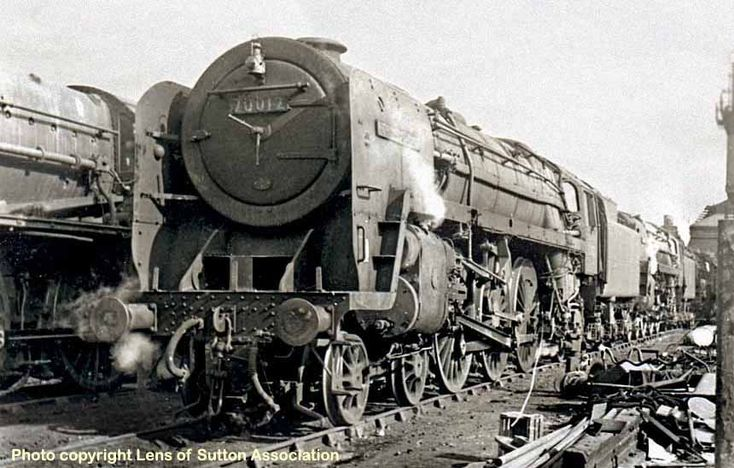 Along with eight other Britannias, 70012 remained in service to the ...