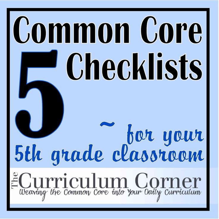 5th Grade Common Core Standards Checklist!  Make sure your instruction includes all that is expected and needed for 5th graders to be successful.  Print these checklists for Reading, Writing, Language, Speaking & Listening and Math.