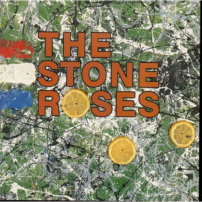 498. The Stone Roses, 'The Stone Roses'  -  Silvertone, 1989