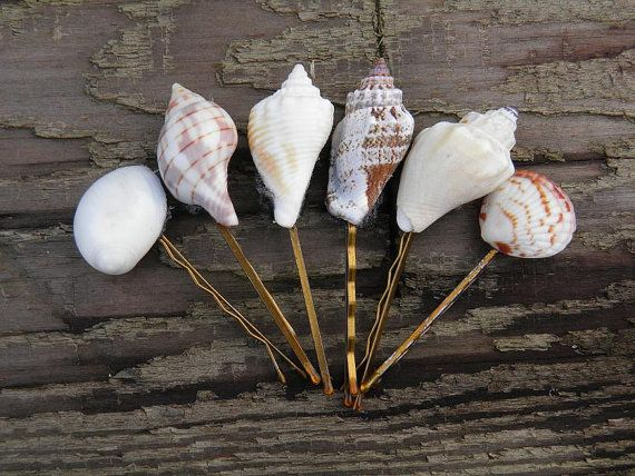 Mako Mermaids-inspired Shell Hair Pins