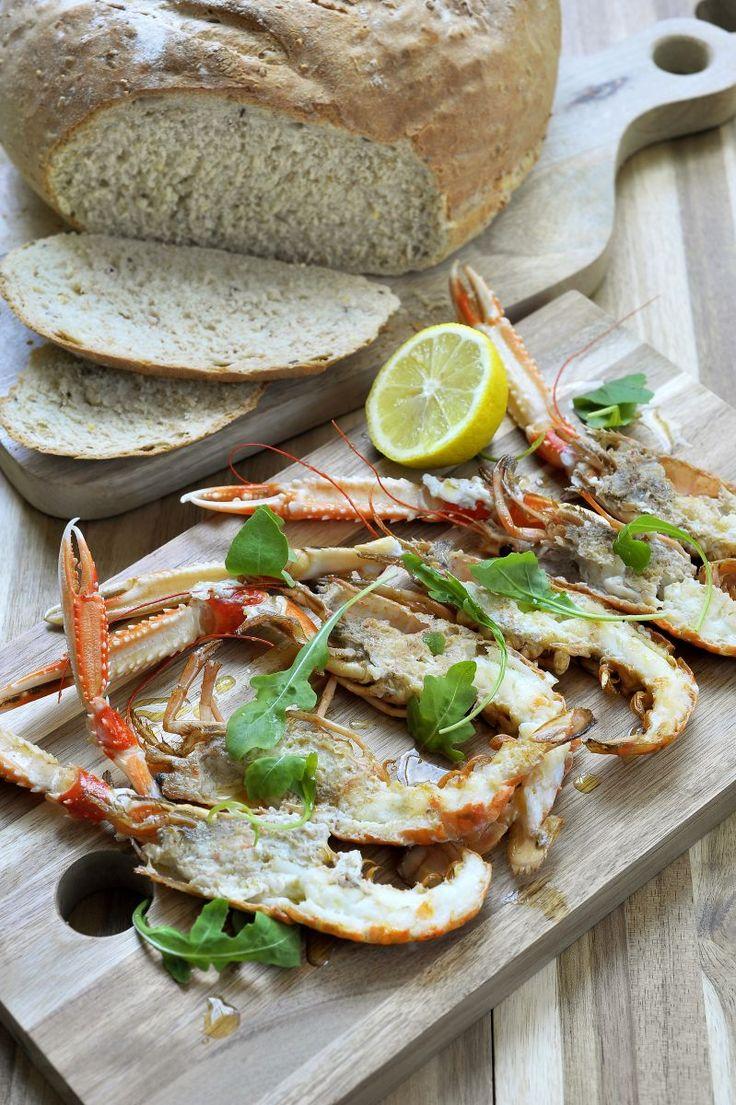 Langoustines à la plancha http://www.njam.tv/recepten/langoustines-la-plancha