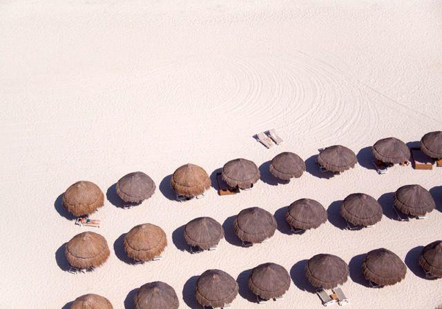 La plage vue du ciel par Gray Malin