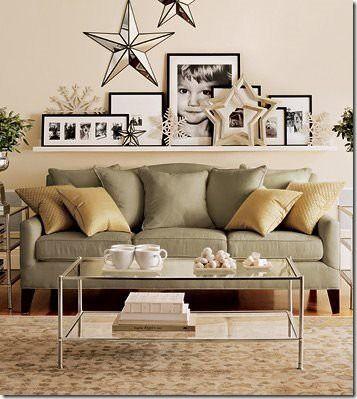 Lovely Above sofa Decor