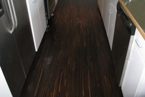 White Oak Smoked Line IdeaLoc Engineered Floating Wood Floor