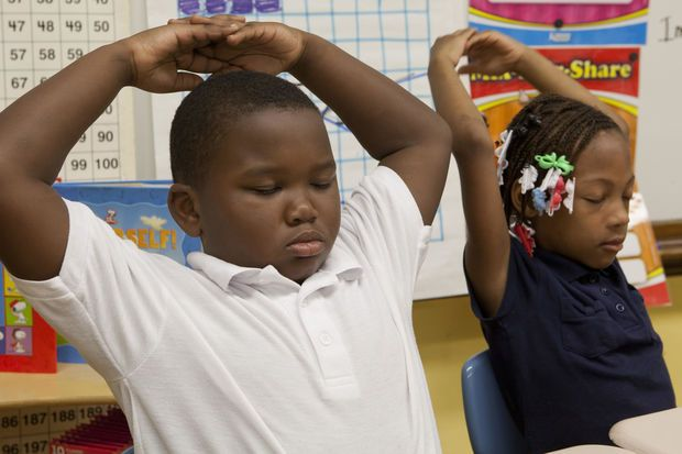 """The Erikson Institute's """"mindfulness"""" project hopes to calm Chicago students at high-poverty schools."""
